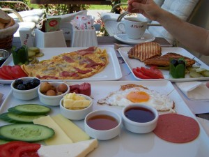 Flu Cafe breakfast Izmir